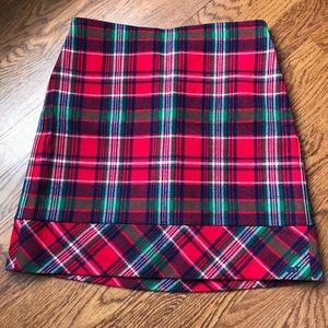 Vineyard Vines Girls Size 14 Plaid Skirt